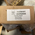 Winchester Lake City 5.56 55gr 100 Round Bulk Box (2020 Production)
