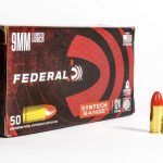 Federal Syntech 9mm Luger Ammo 124 Grain Total Synthetic Jacket AS9SJ2