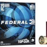 Federal Top Gun 12 Gauge Ammunition 2-3/4″ #7.5 Shot 1-1/8 Oz Shot 1200fps