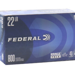 Federal Range Pack 22LR 40gr Lead Round Nose Ammo – Box of 800