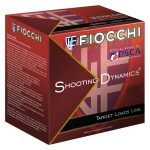 Fiocchi Light Clay Target Loads 12SD1H8, 12 Gauge, 2-3/4″, 1 oz, #8 Lead Shot