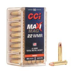 CCI Target MaxiMag 22 WMR 40 GR TMJ 0023 – 50 Rounds