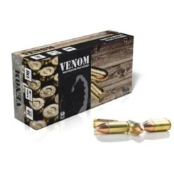 Venom 9mm Luger 115gr Brass Full Metal Jacket
