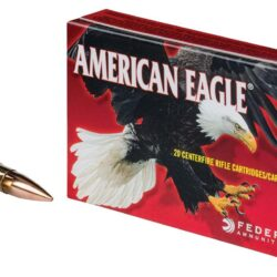 Federal American Eagle AE300BLK1 .300 Blackout Ammo 150GR FMJ – 20 Rounds