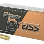 CCI Blazer Brass 9mm 115 GR 5200 FMJ – 50 Rounds