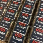 CCI 22 SHORT 29 Gr. Copper-Plated RN 1080 FPS (0027)