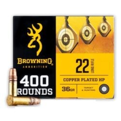 Browning .22LR 36gr. Copper Plated HP