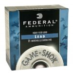 Federal 12 Gauge Game-Shok Upland Heavy Field 12Ga 2.75″ 1 1/8 oz 6 Shot H1236