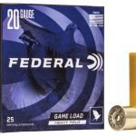 "Federal 20 Gauge 2.75″ 1oz #6 ""Game-Shok"" Heavy Field Lead Shotshells H202 6 20Ga"