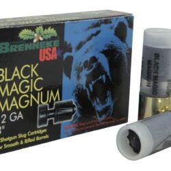 Brenneke USA Black Magic Magnum Ammunition 12 Gauge 3″ 1-3/8 oz Lead Rifled Slug