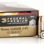 Federal Premium LE 147gr 9mm +P HST JHP