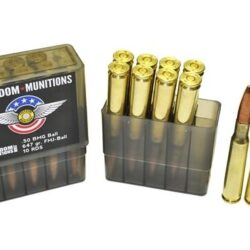 Freedom Munitions 50 BMG BALL 647 gr. FMJ BT – 10 Rounds