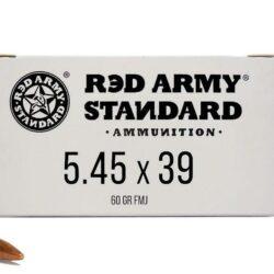 Red Army Standard 5.45x39mm Ammo 60 Grain FMJ Steel Case