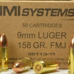 IMI Systems Subsonic 158 gr 9mm FMJ