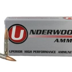 Underwood 300 AAC Blackout 220gr. Custom Competition Hollowpoint Boat Tail Match Subsonic Hunting Rounds – 20 Round Box