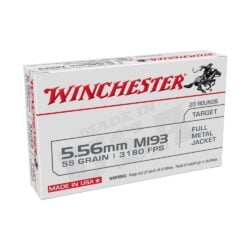 Winchester Lake City 5.56x45mm NATO 55 Grain FMJ WM193K