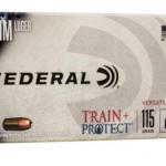 Federal American Eagle 9mm 115 GR TRAIN + PROTECT VHP TP9VHP1