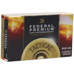 Federal Law Enforcement 12 Gauge Ammo 2-3/4″ Hydra-Shok Rifled Slug