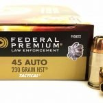 Federal Premium Law Enforcement 45 ACP 230gr HST FEDP45HST2