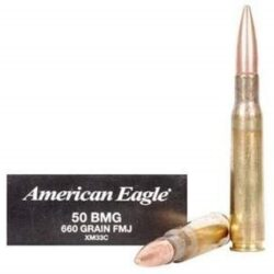 Federal 50 BMG XM33C 660 Grain FMJ – 10 rounds