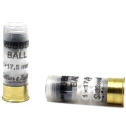 Sellier & Bellot 12 Gauge 2-5/8″ 17.5mm Rubber Slug – 25 Round per Box