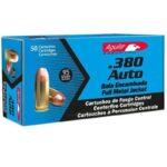Aguila 380 ACP FMJ 95 Grain – 50 Round Box