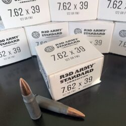 Red Army Standard 7.62x39mm 122 Grain FMJ Steel Case **FREE SHIPPING FOR CASES**