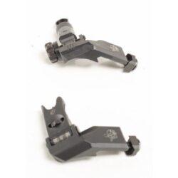 Knight's Armament KAC Folding Offset Micro Sights – 45 degree BUIS – Part 31593