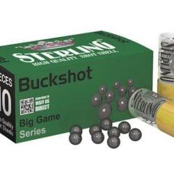 Sterling Russian 12 Gauge 2-3/4″ 1-3/32oz Big Game Series 00 Buckshot