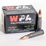 Wolf WPA Polyformance 7.62×39 FMJ Steel Case 123 Grain