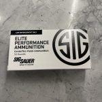 Sig Sauer Elite JHP Law Enforcement 40 S&W 180gr