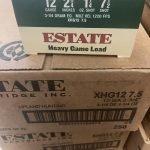 """Estate 12 Gauge Heavy Game Load 2 3/4"""" 1 1/4 Oz 7.5 Shot 12ga"""