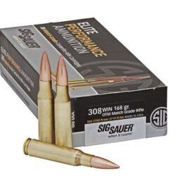 Sig 308 Win 168gr OTM Match Grade Rifle Ammo