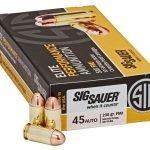 Sig Sauer Elite 45 ACP 230 Grain FMJ