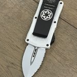 Microtech Exocet D/E ST White Stormtrooper 157-3 ST